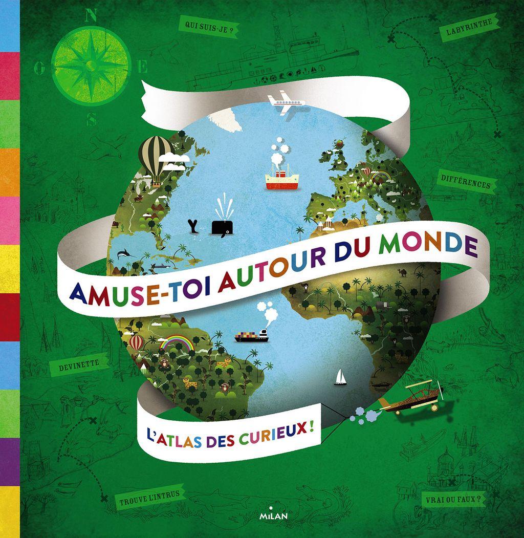 «Amuse-toi autour du monde» cover