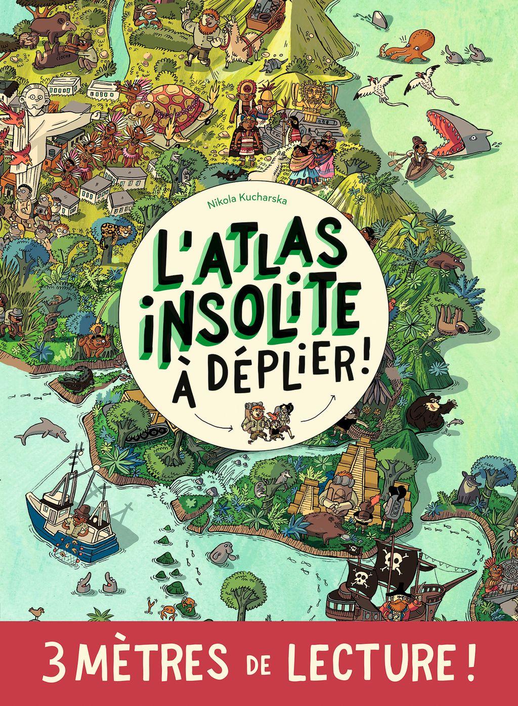 Couverture de «L'atlas insolite»