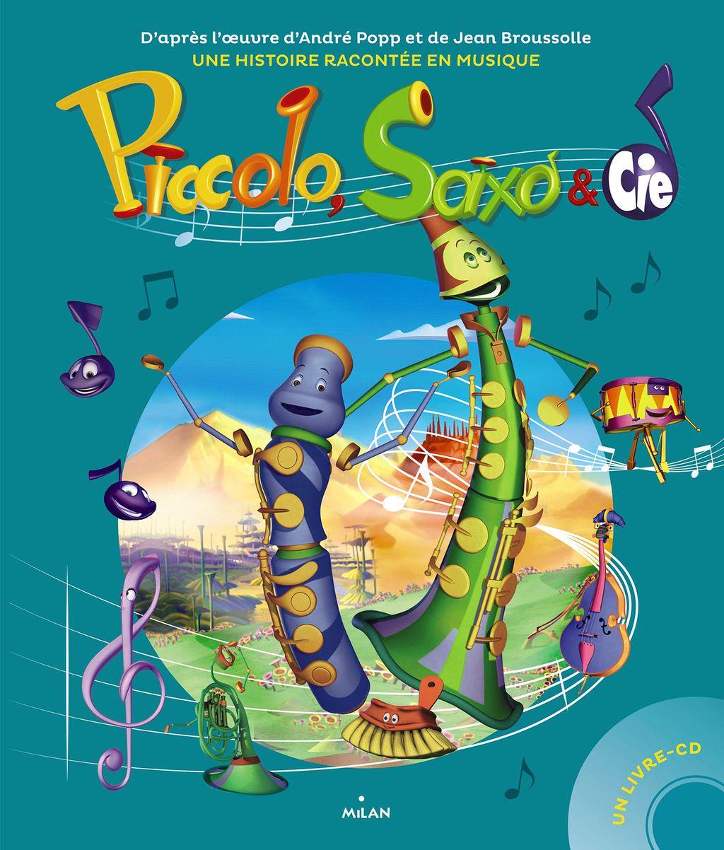 Couverture de «Piccolo, Saxo et compagnie»