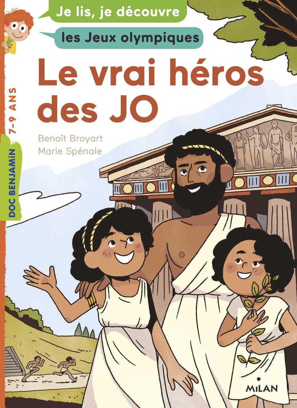 Couverture de «Le vrai héros des JO»