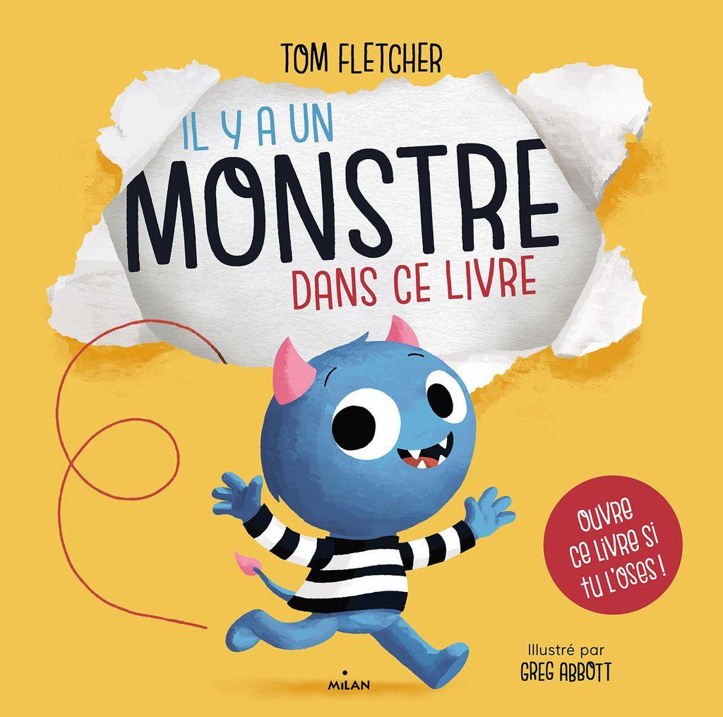 Couverture de «Il y a un monstre dans ce livre»