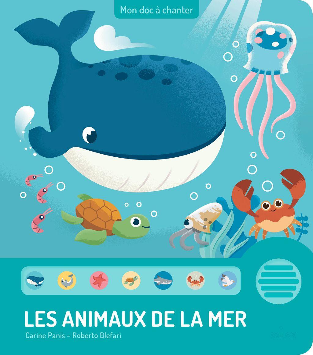 Couverture de «Les animaux de la mer»