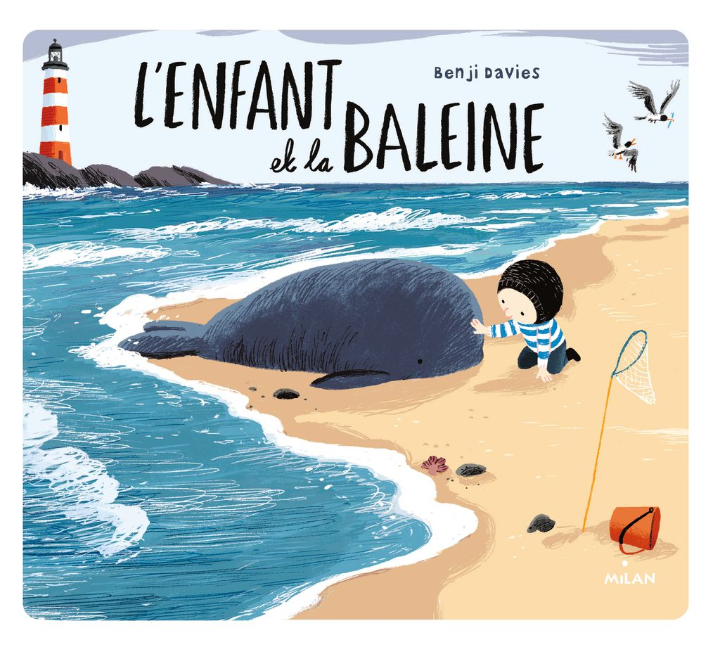 Couverture de «L'enfant et la baleine (édition tout-carton)»