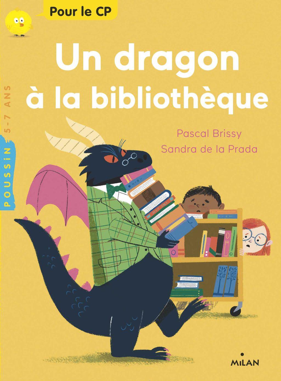Couverture de «Un dragon à la bibliothèque»