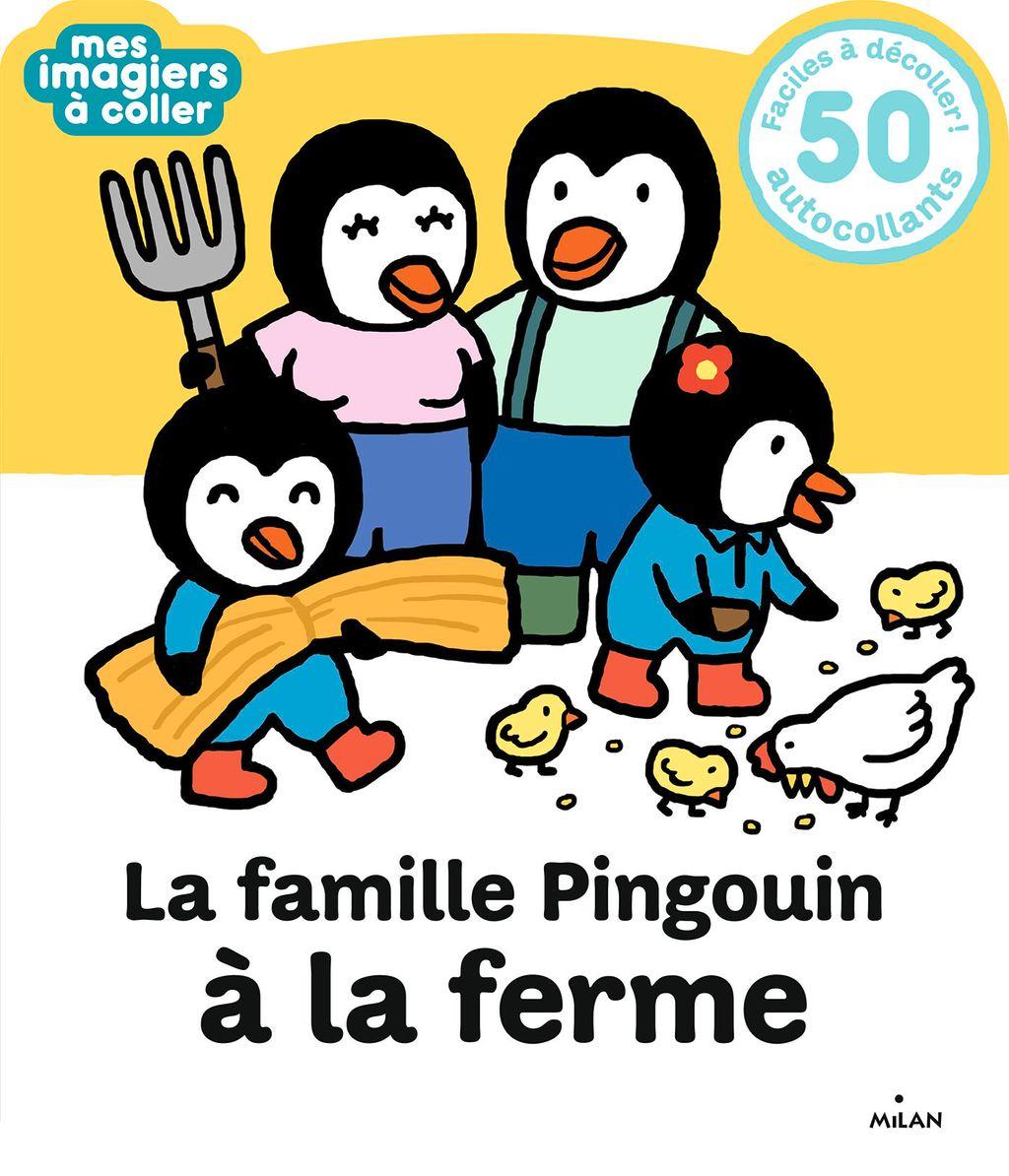 Couverture de «La famille Pingouin à la ferme»