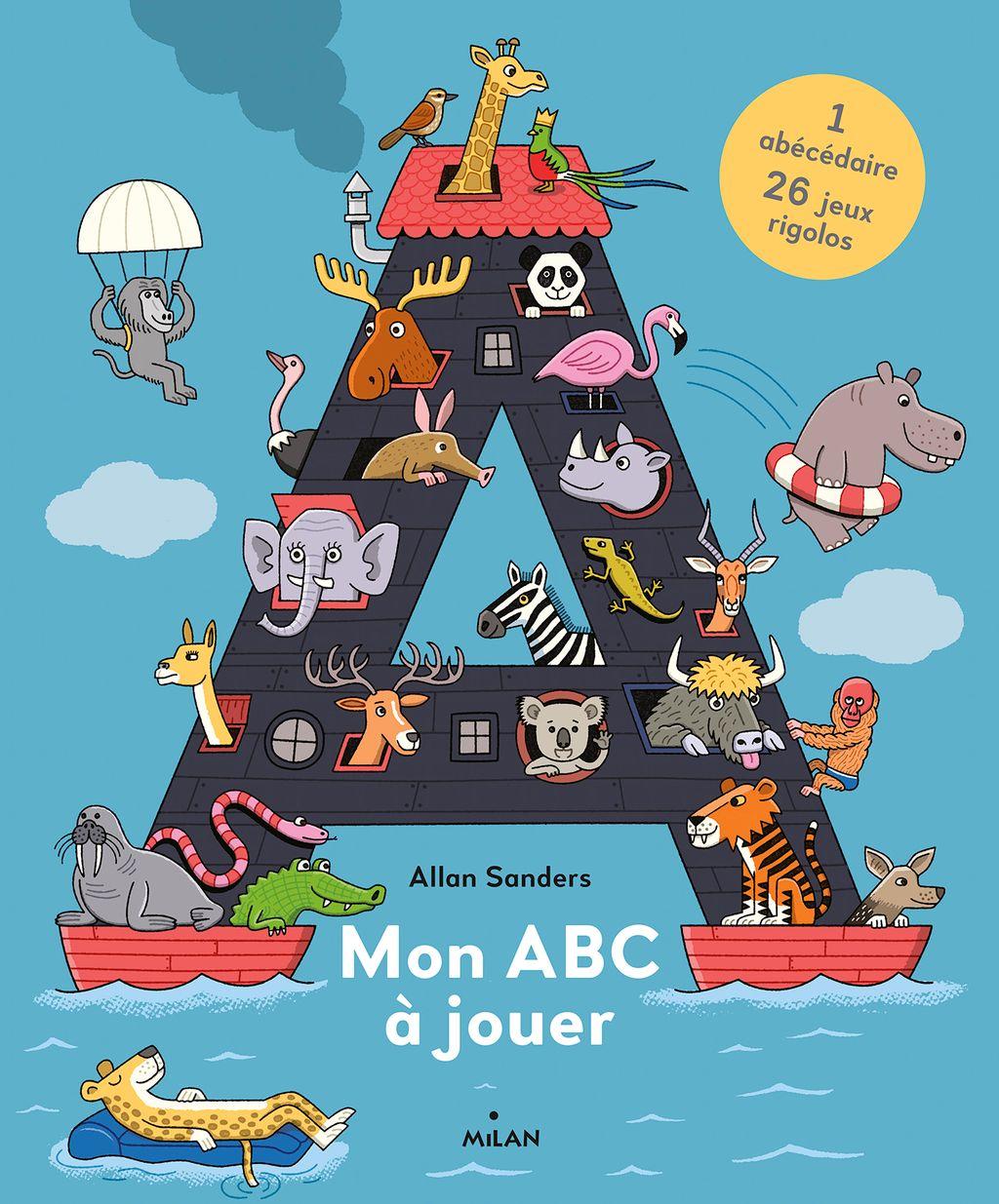 Couverture de «Mon ABC à jouer»