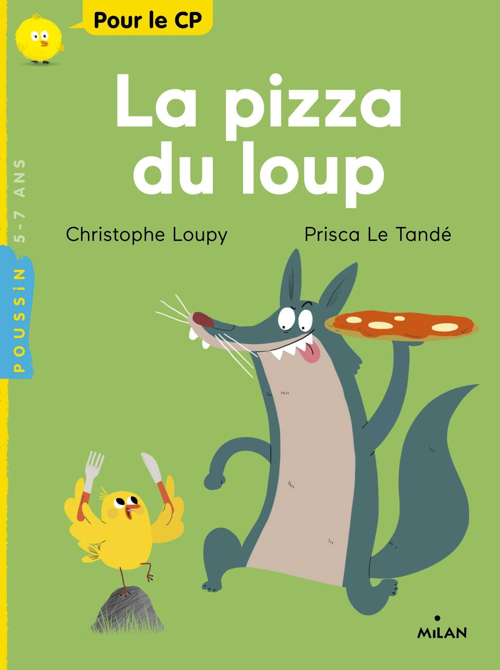 Couverture de « La pizza du loup »