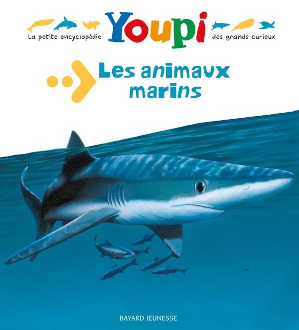 Couverture de «Les animaux marins»