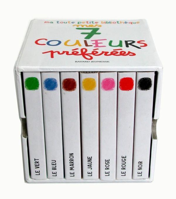 Couverture de «Mes 7 couleurs préférées»