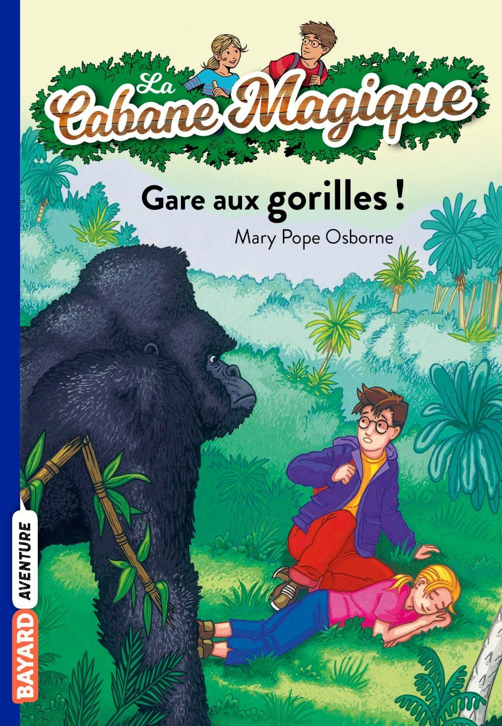 Couverture de «Gare aux gorilles !»