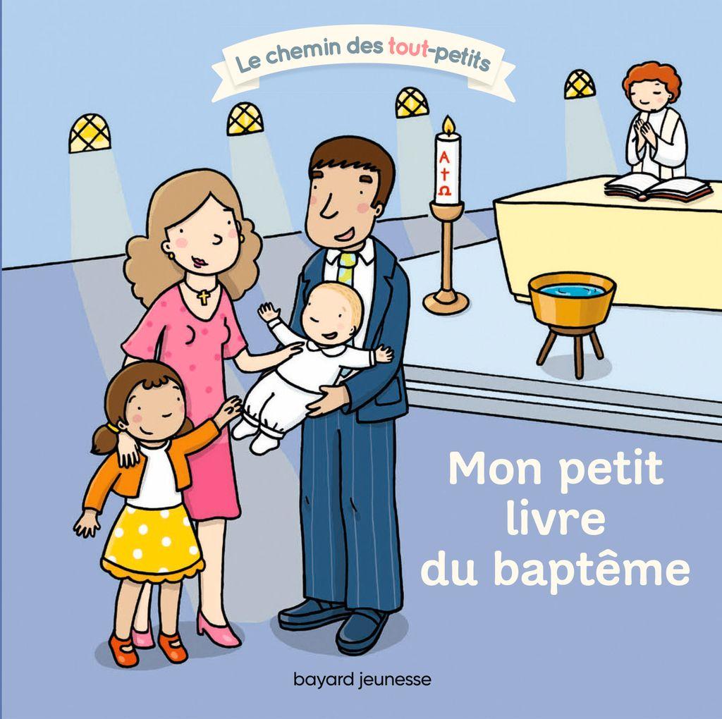Couverture de «Mon petit livre du baptême»