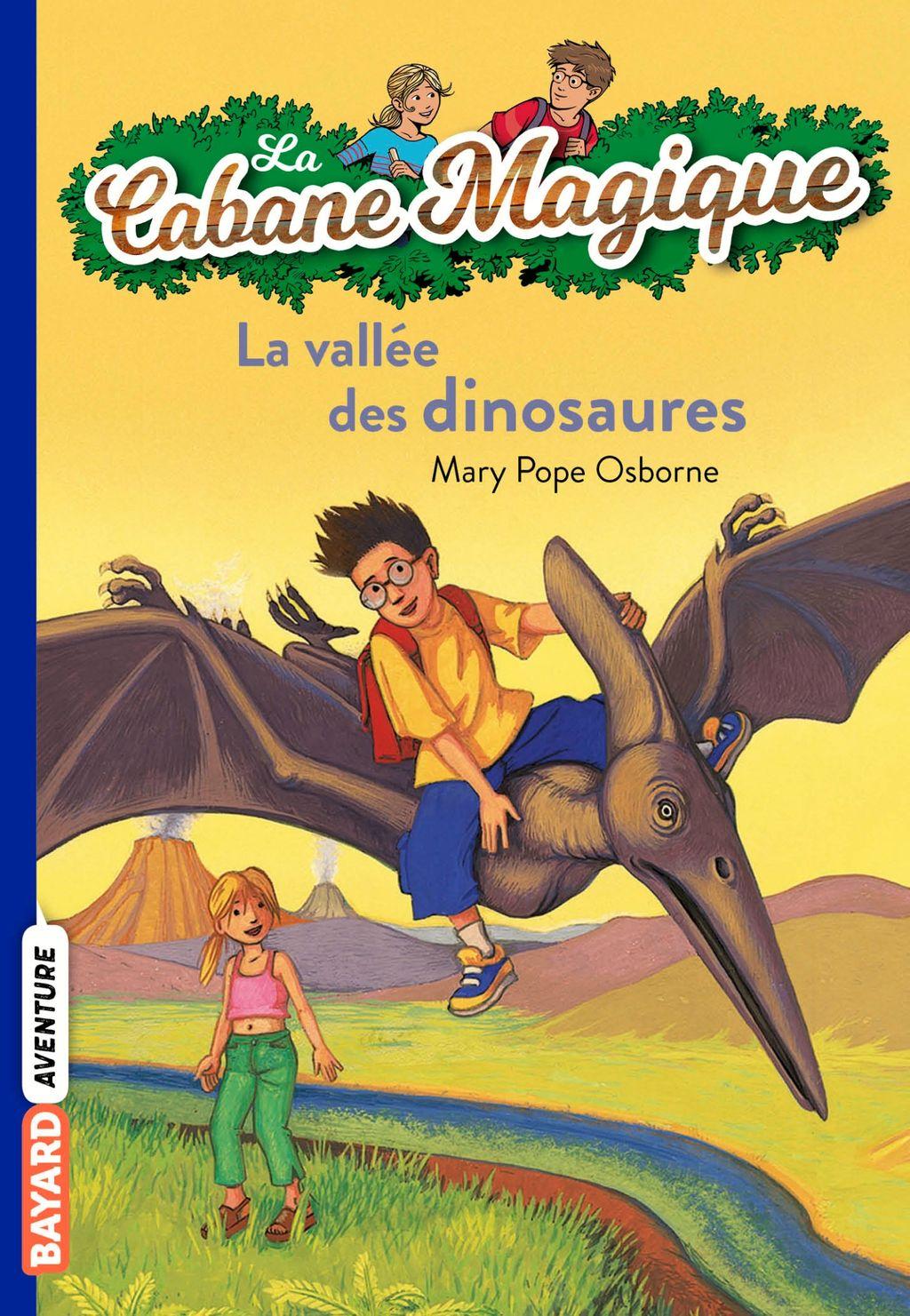 Couverture de «La vallée des dinosaures»