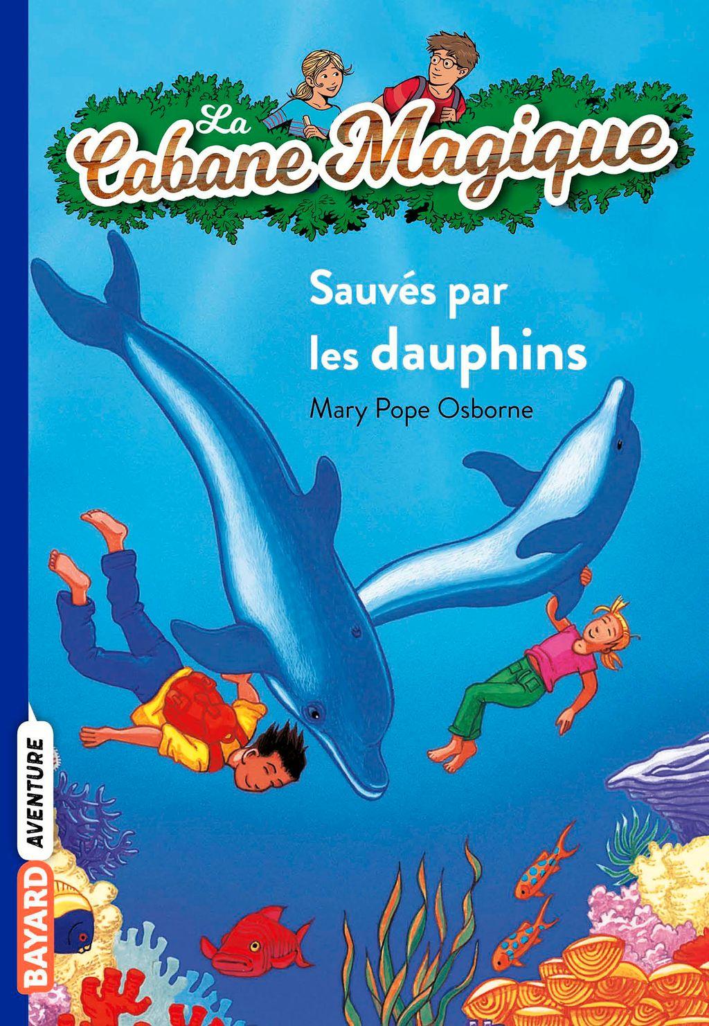 Couverture de «Sauvés par les dauphins»