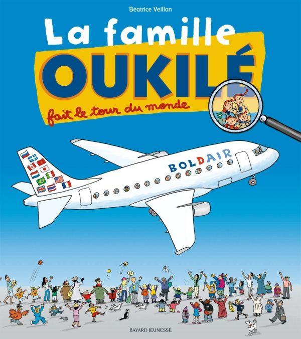 «La famille Oukilé fait le tour du monde» cover