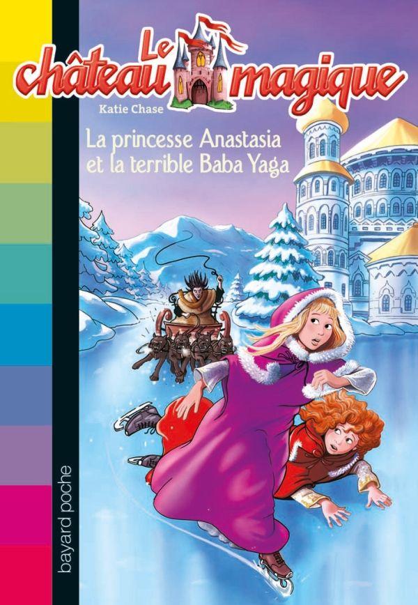 Couverture de «La princesse Anastasia et la terrible Baba Yaga»