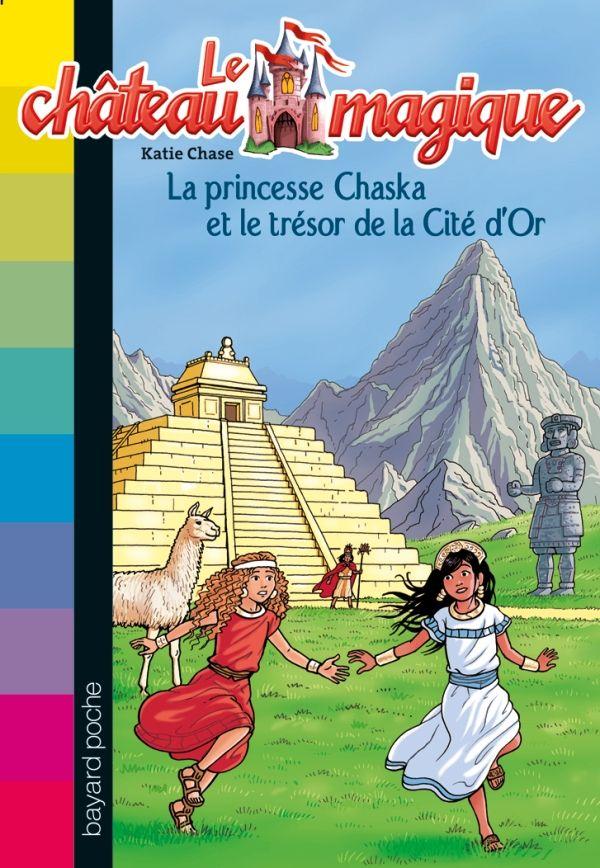 Couverture de «La princesse Chaska et le trésor de la cité d'or»