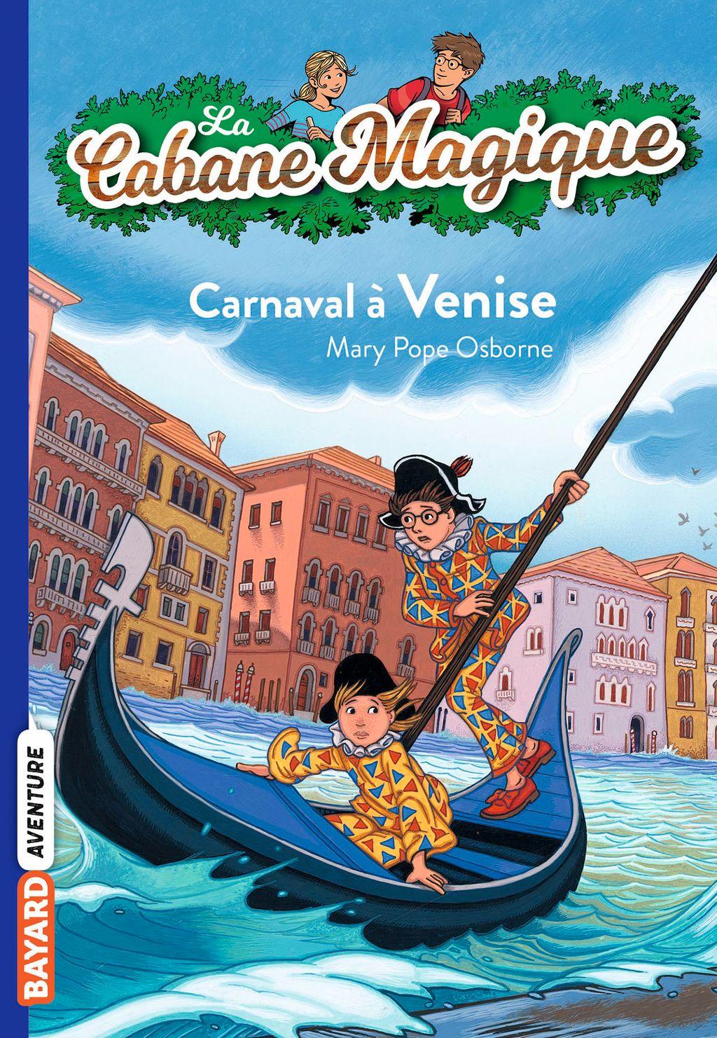 Couverture de «Carnaval à Venise»
