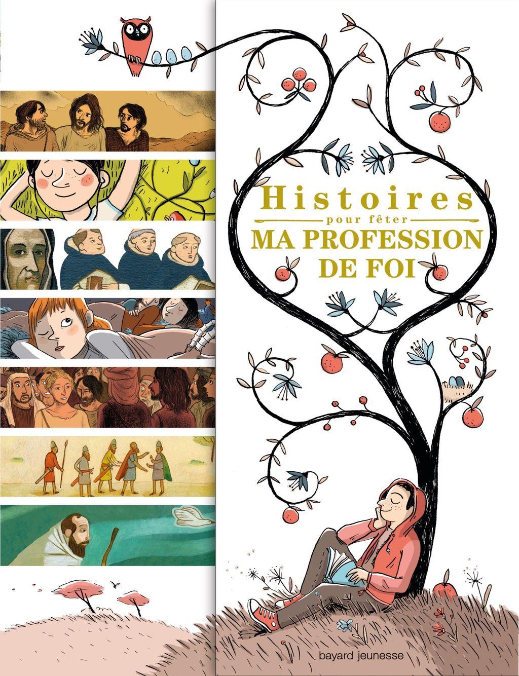Couverture de «Histoires pour fêter ma profession de foi»