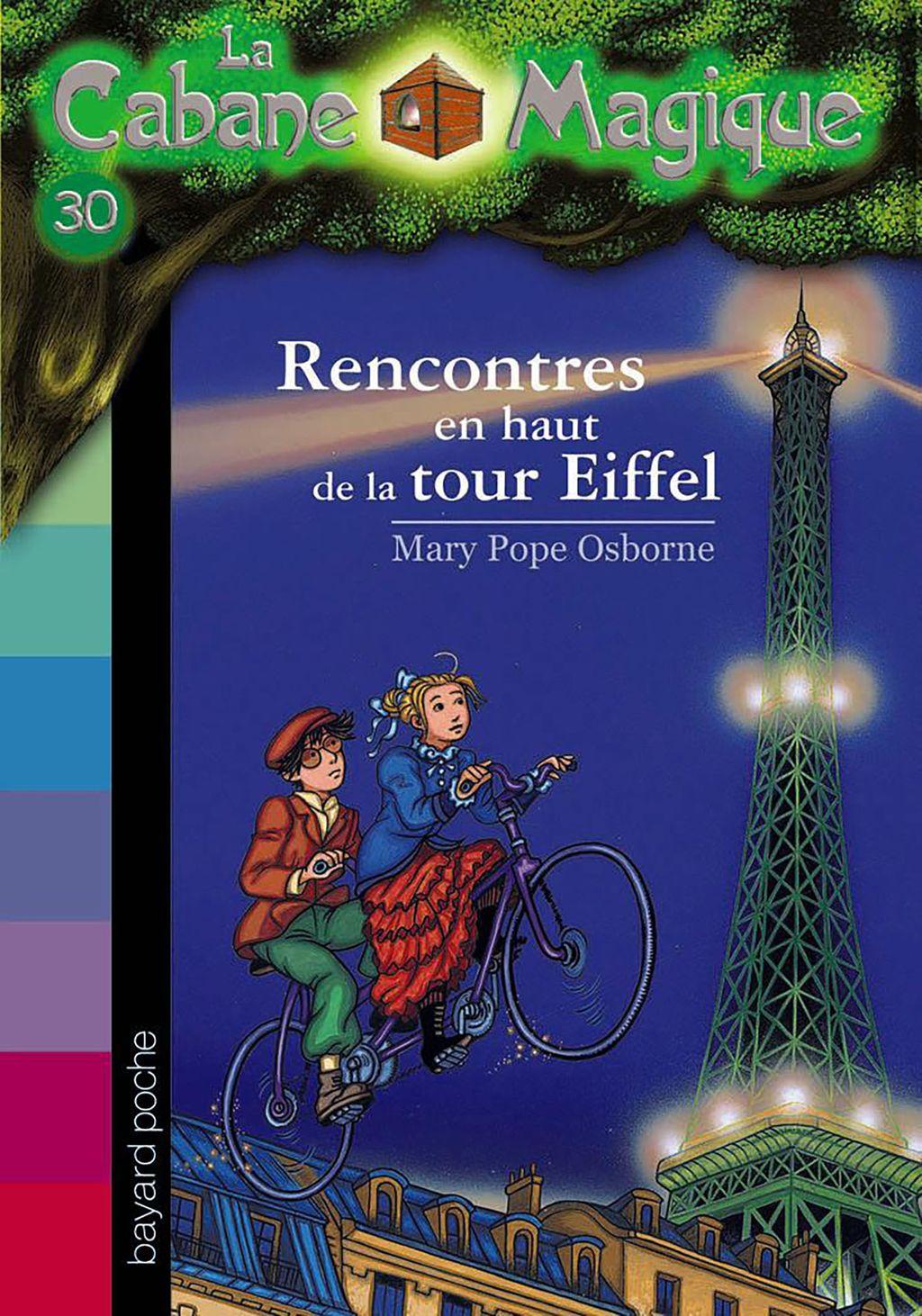 Couverture de «Rencontres en haut de la Tour Eiffel»