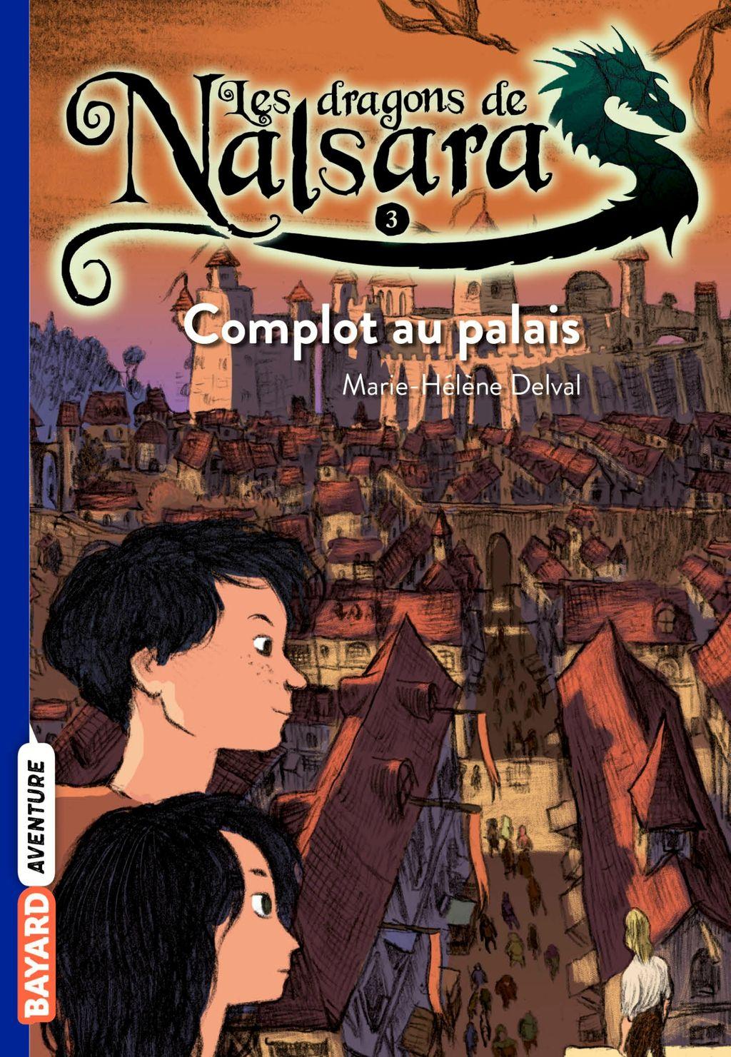 «Complot au palais» cover