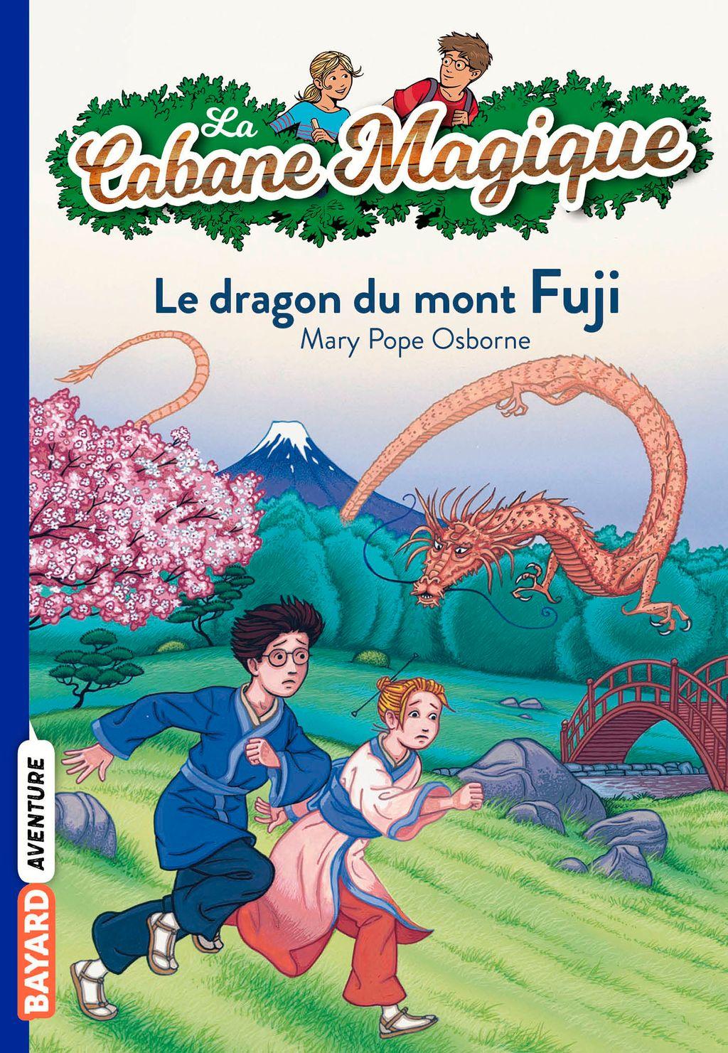 Couverture de «Le dragon du mont Fuji»