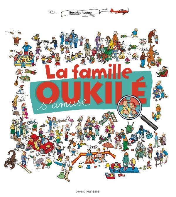«La famille Oukilé s'amuse !» cover