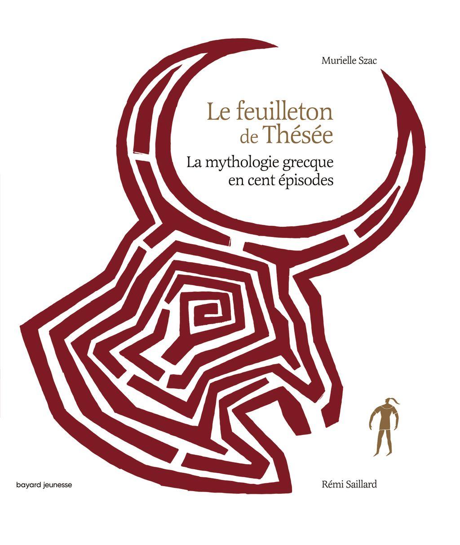 «Le feuilleton de Thésée» cover