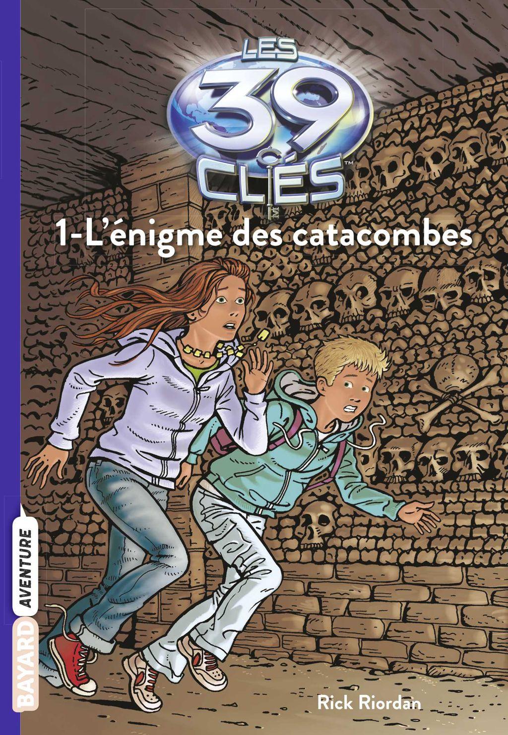 Couverture de «L'énigme des catacombes»