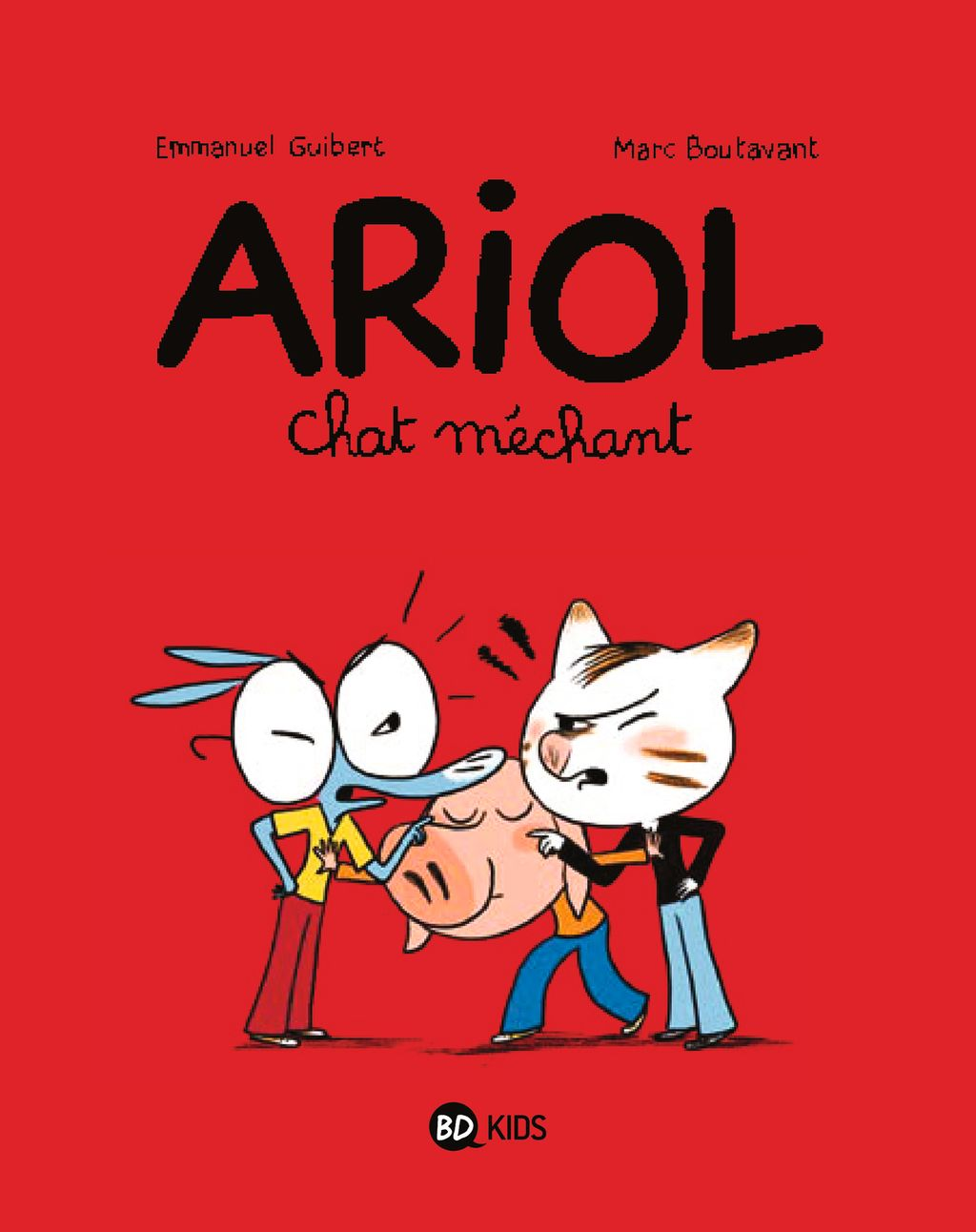 Couverture de « Chat méchant »