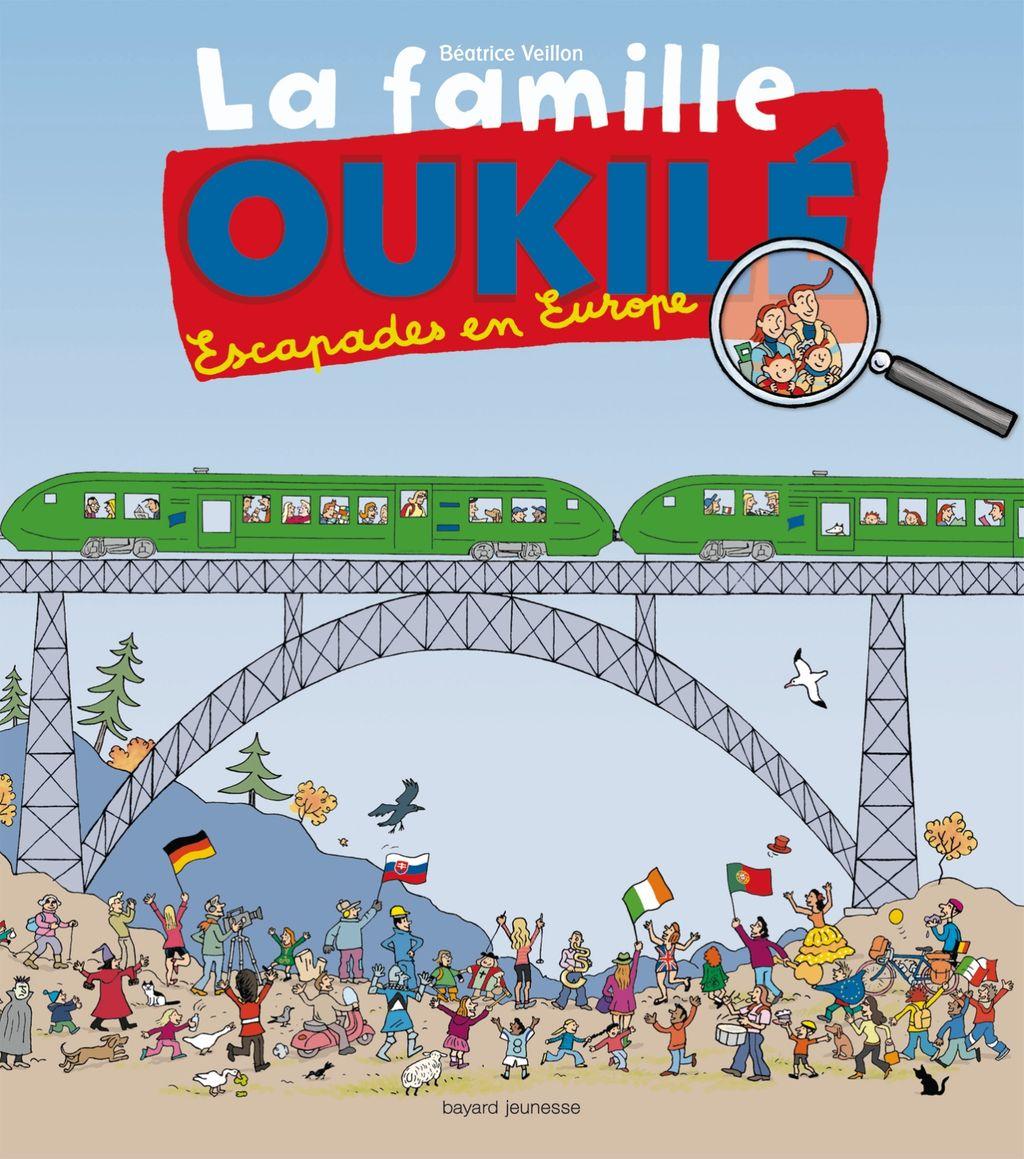 «La famille Oukilé – Escapade en Europe» cover