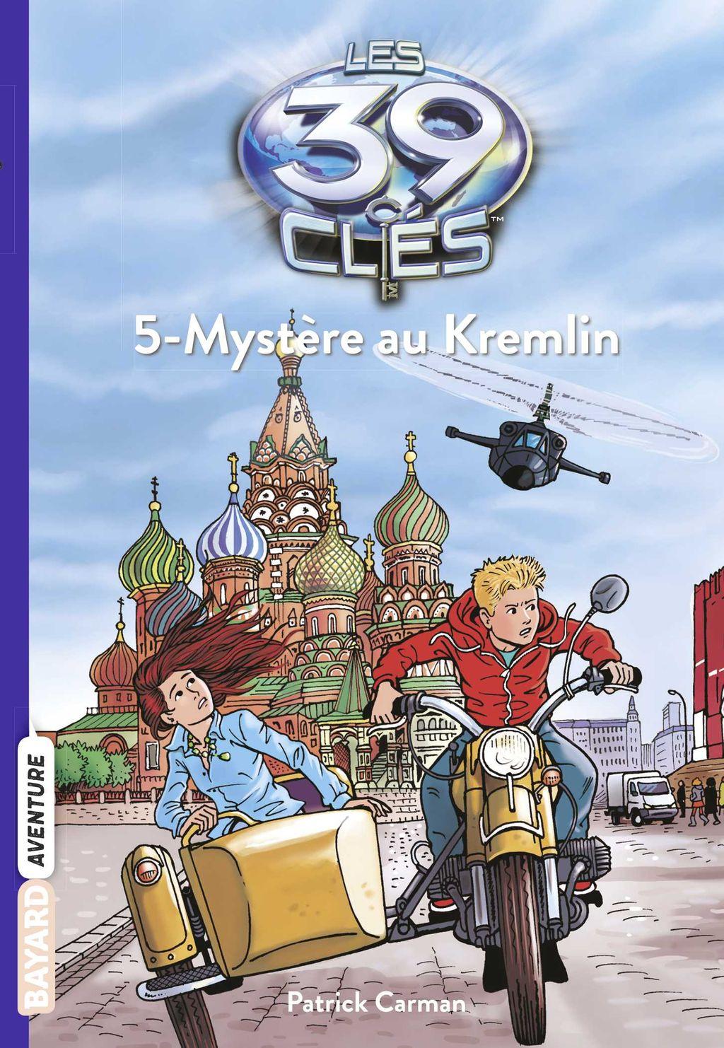 Couverture de «Mystère au Kremlin»