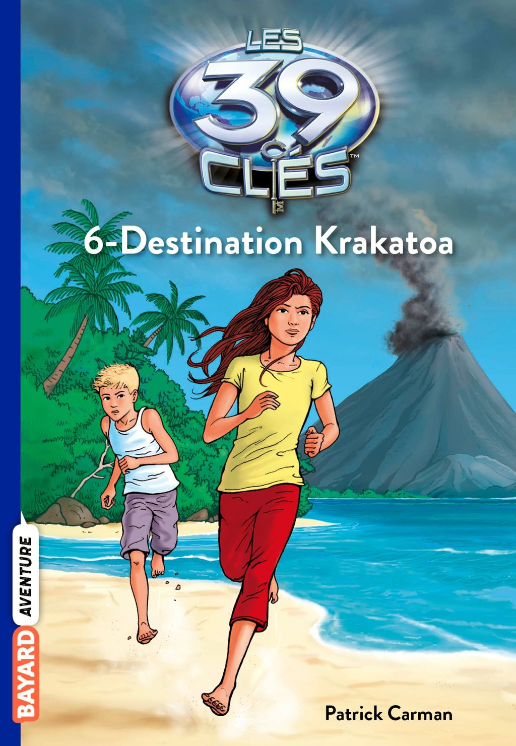 Couverture de « Destination Krakatoa »