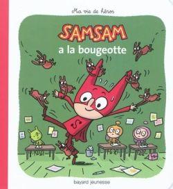 Couverture de «SamSam a la bougeotte»