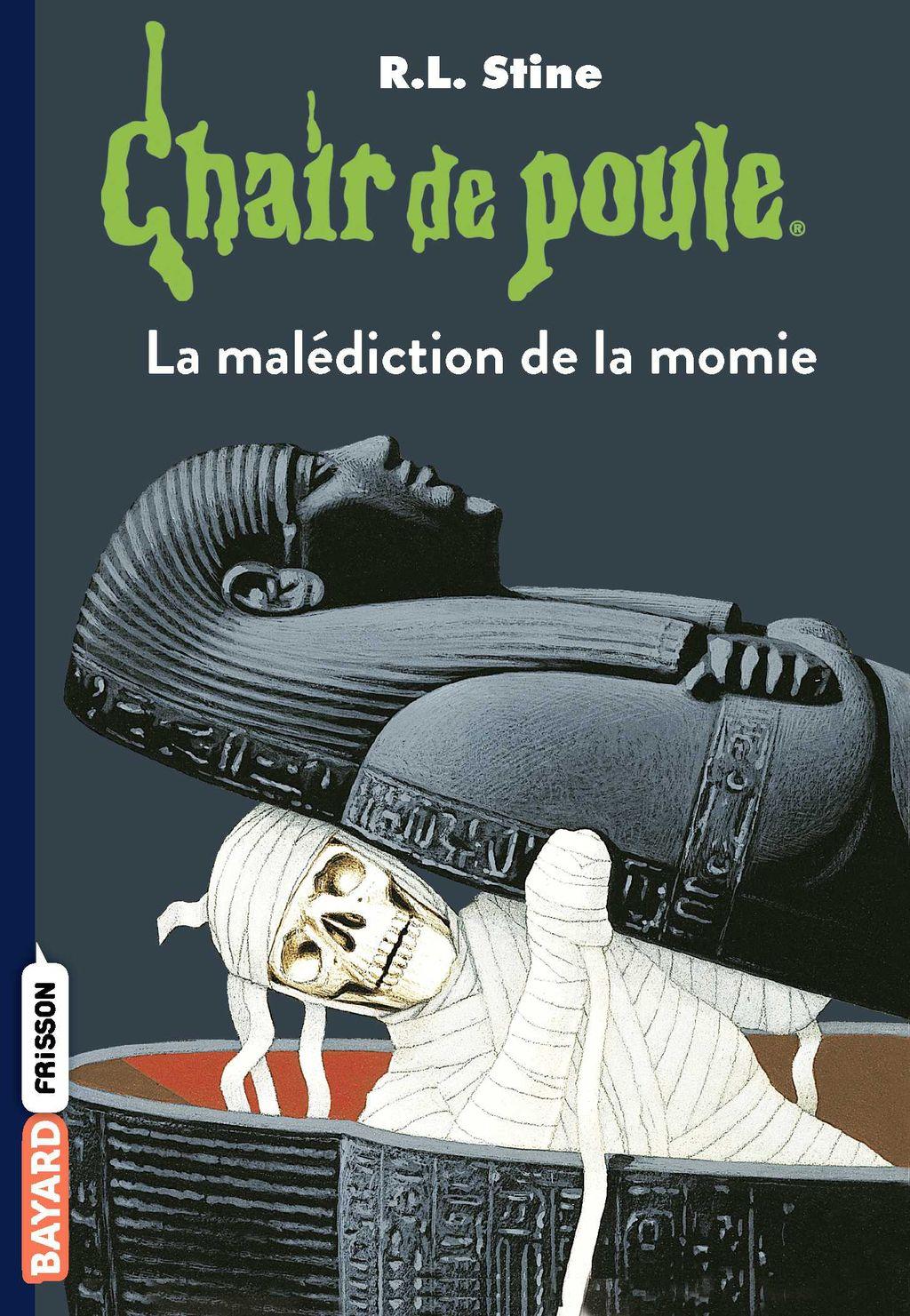 Couverture de «La malédiction de la momie»