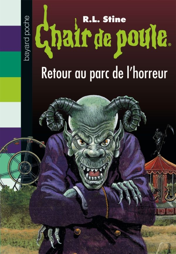 Couverture de «Retour au parc de l'horreur»