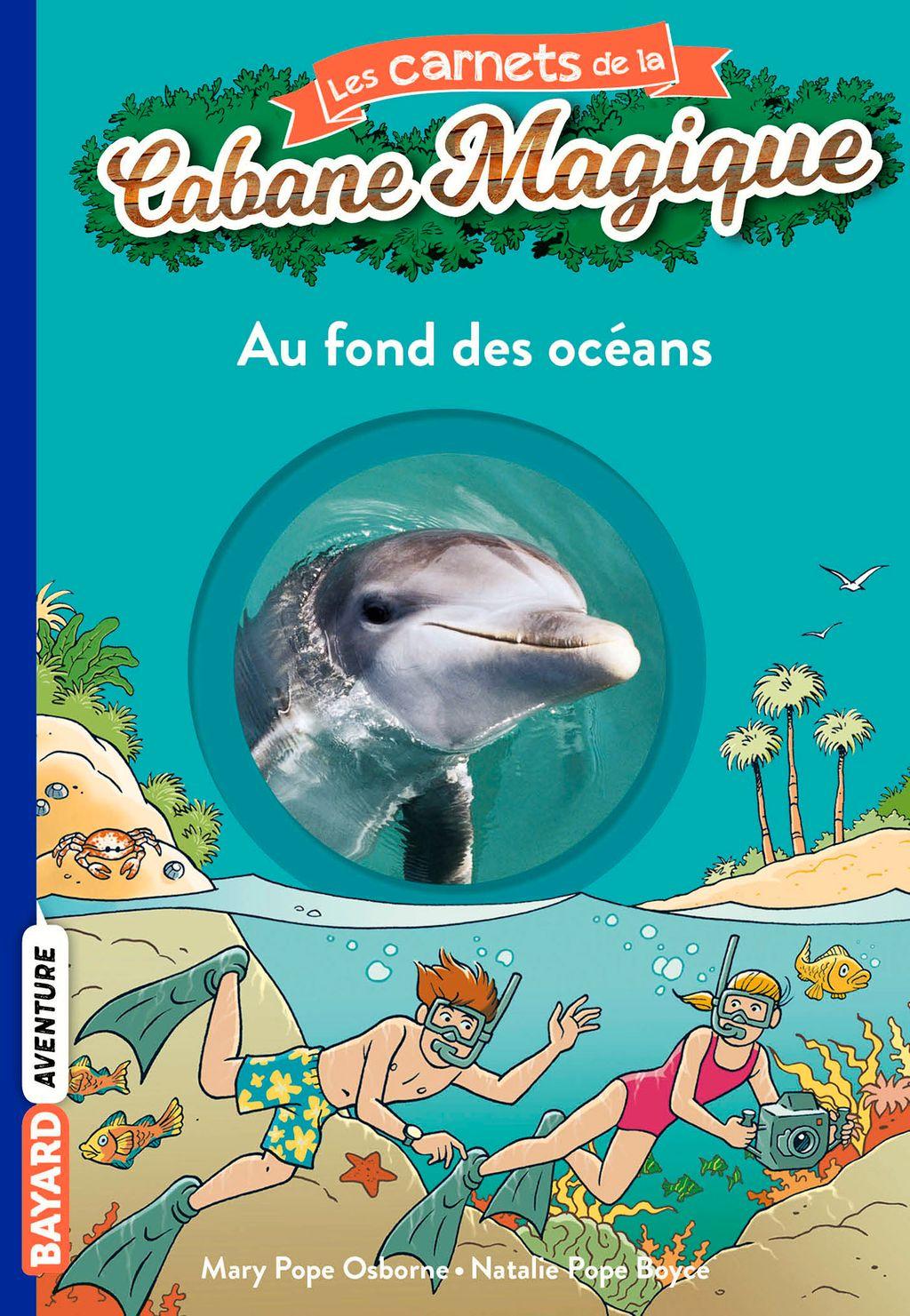Couverture de «Au fond des océans»