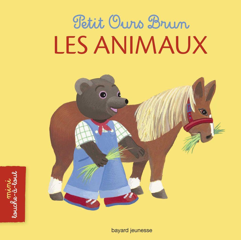 Couverture de «Petit Ours Brun mini touche-à-tout – Les animaux»