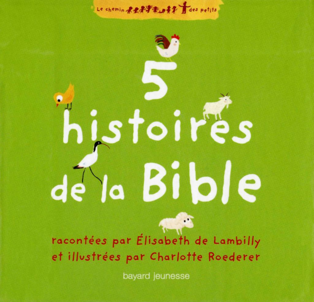 Couverture de «5 histoires de la Bible»