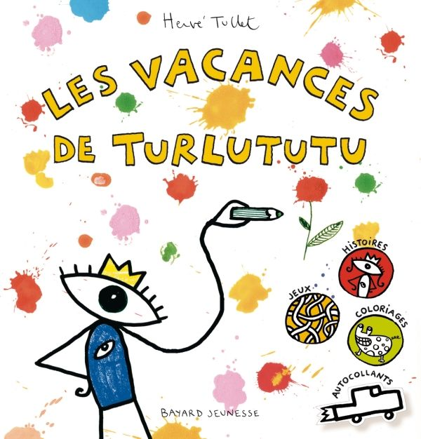 «Les vacances de Turlututu» cover