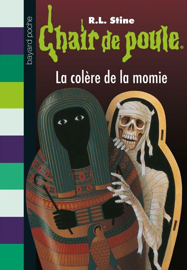 Couverture de «La colère de la momie»