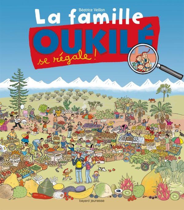 Couverture de «La famille Oukile se régale !»