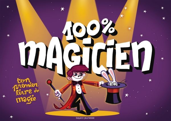 «100 % magicien» cover