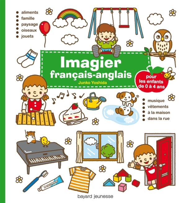 Couverture de «Imagier français – anglais»