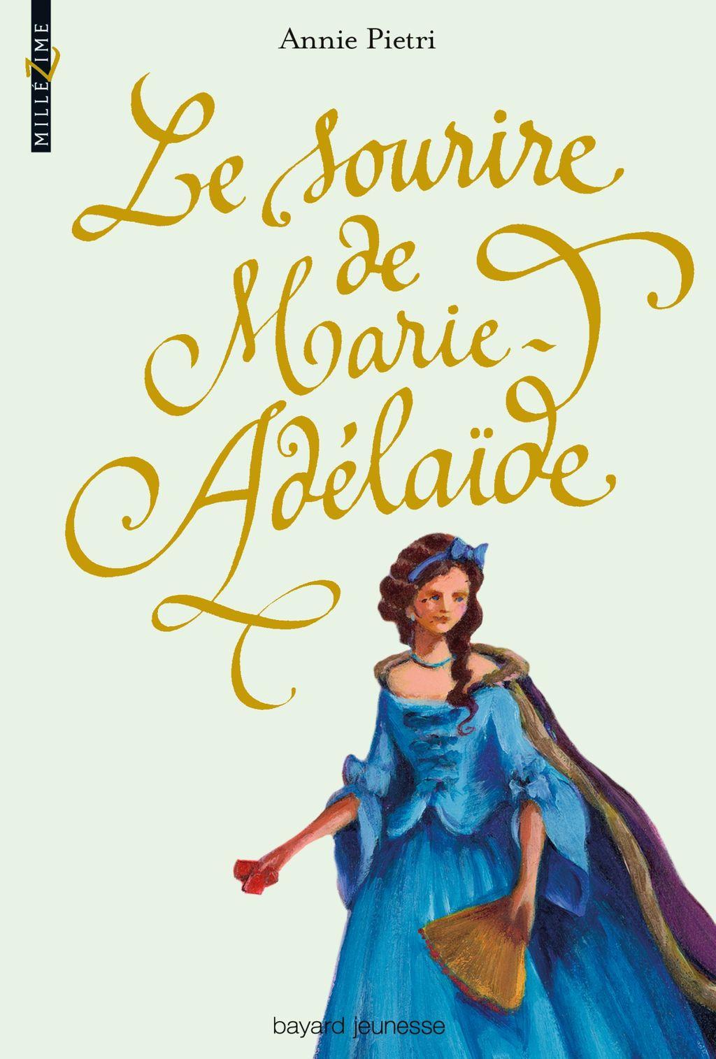 «Le sourire de Marie-Adélaïde» cover