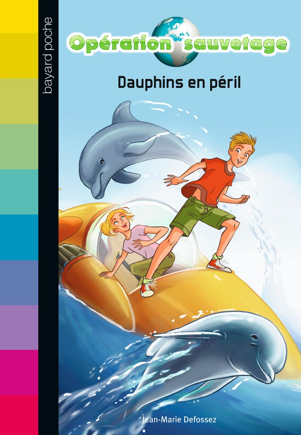 « Dauphins en péril » cover