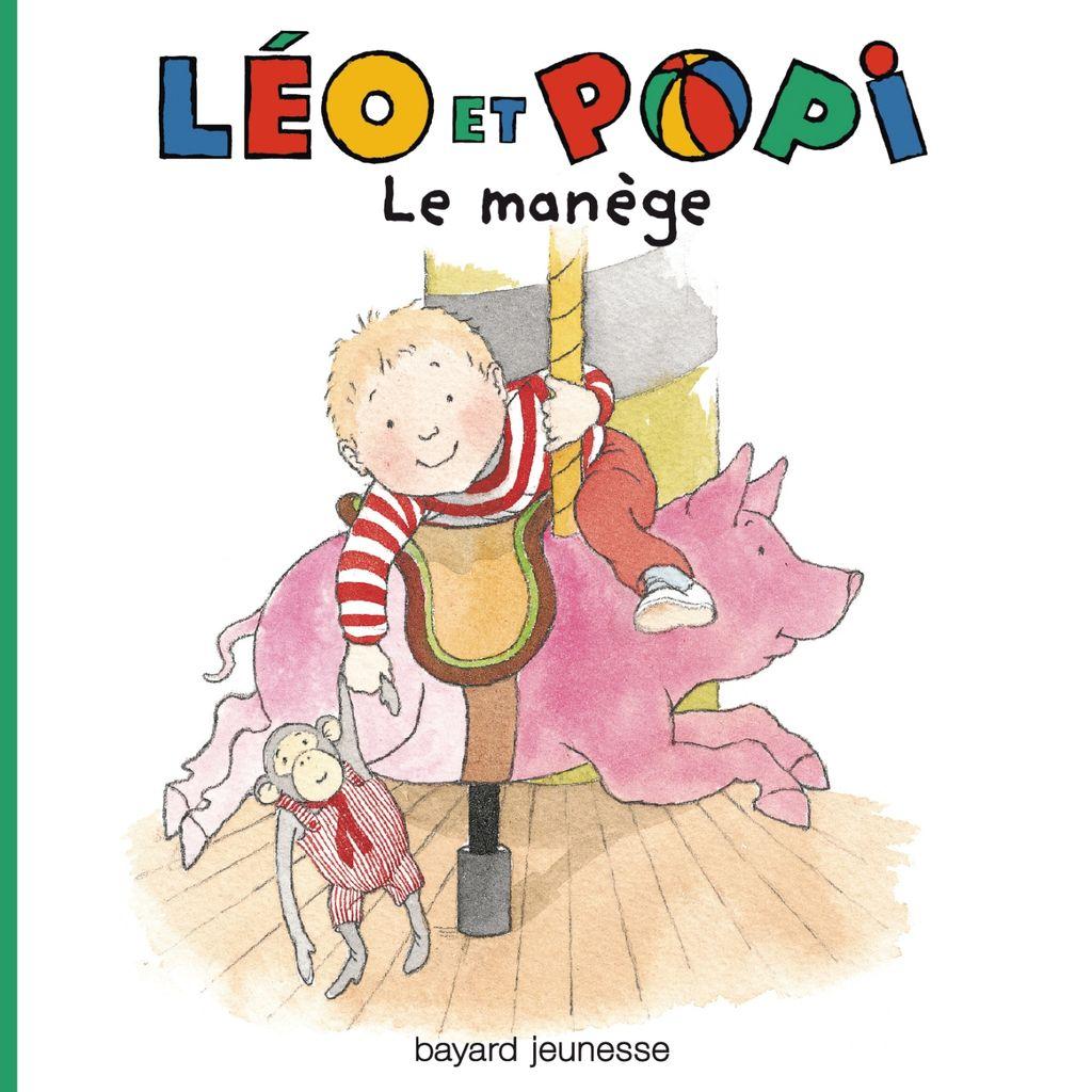 Couverture de «Léo et Popi – Au manège»