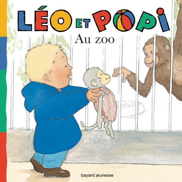 Couverture de «Léo et Popi – Au zoo»