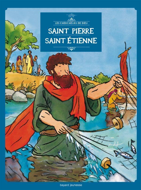 Couverture de «Saint Pierre, Saint Etienne, en BD»