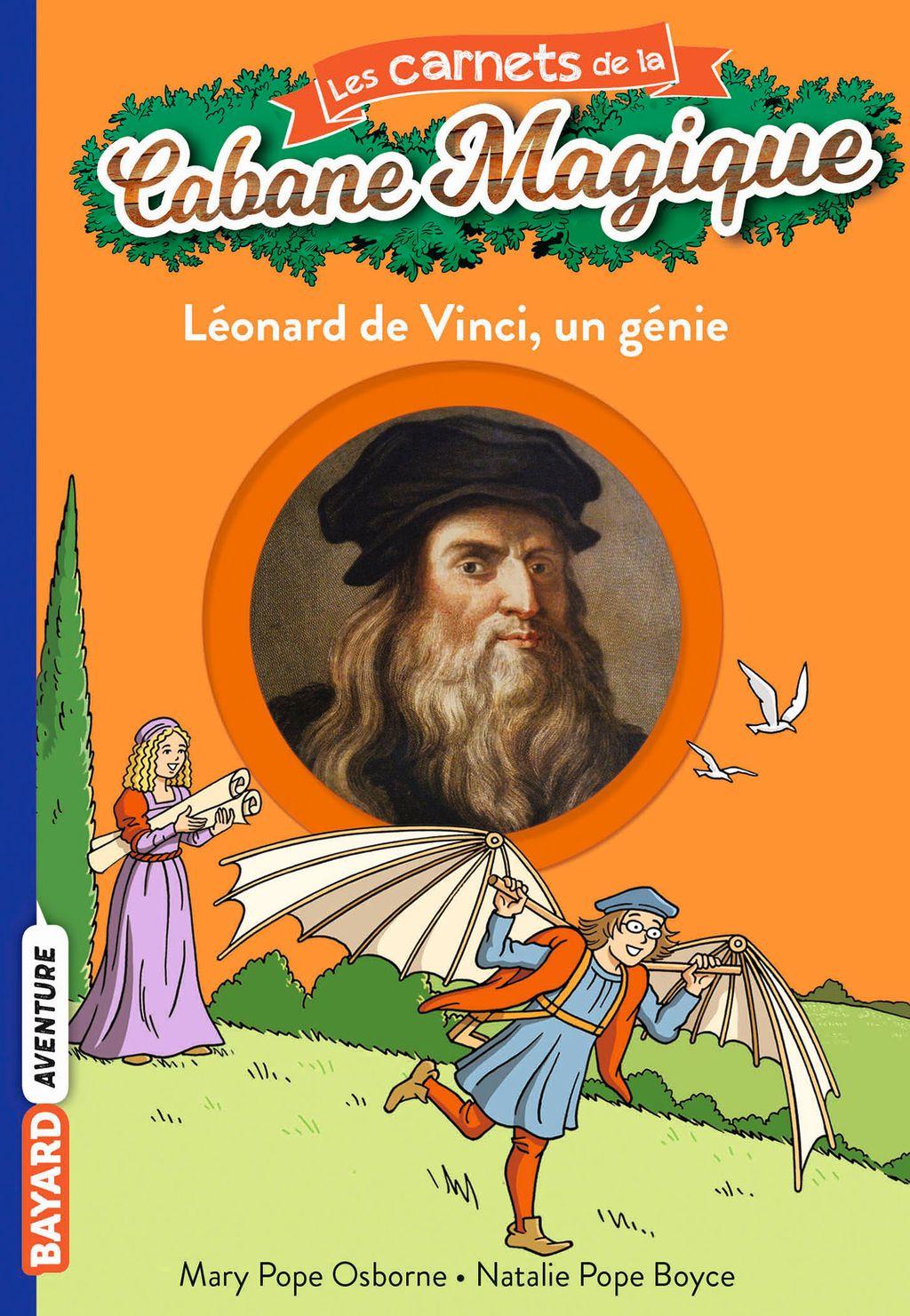 Couverture de «Léonard de Vinci, un génie»