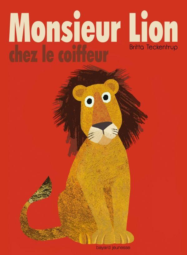 «Monsieur Lion chez le coiffeur» cover